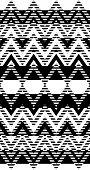 Optical zigzag pattern