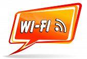 Wifi Design Orange Speech
