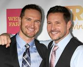 LOS ANGELES - DEC 7:  Matt Collum, Ty Herndon at the