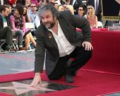 LOS ANGELES - DEC 8:  Peter Jackson, Mitch O'Farrell at the Peter Jackson Hollywood Walk of Fame Ceremony at the Dolby Theater on December 8, 2014 in Los Angeles, CA