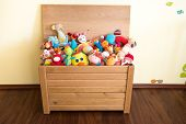 Toy Box Full Of Soft Toys