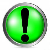 Exclamation Mark Button