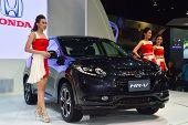 Nonthaburi - December 06: Honda Hr-v Car On Display At Thailand International Motor Expo 2014