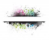 Grunge stylish banners with space of your text,