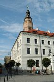 Town Hall In Glogow, Poland