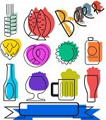 Colorful Beertime Icons