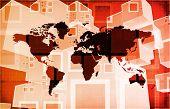 International Crisis or Worldwide Global Problem as Art