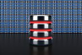 database icon on database row background