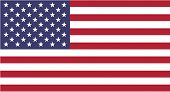 Clean Flag Of Usa, Vector