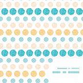 Vector texture circles stripes abstract frame corner pattern background