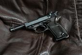 World War II German pistol.