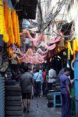 KOLKATA, INDIA - FEBRUARY 08: Auto parts store on Malik bazar in Kolkata, India on February 08, 2014