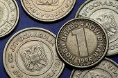 stock photo of yugoslavia  - Coins of Yugoslavia - JPG