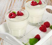 Fresh Yogurt With  Berries