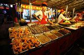 Donghuamen Night Market In Beijing