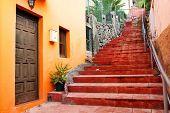 Architectural detail in San Sebastian de la Gomera, Canary Islands, Spain