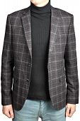Woolen Mens Blazer Into The Cell   In Combination With Jeans