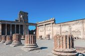 Pompeii On A Sunny Day