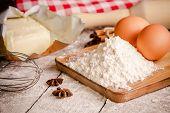 Baking Cookies, Ingredients For Cakes