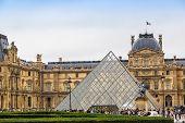 The Louvre Museum In Paris