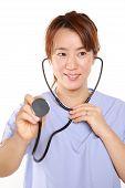 fema doctor with stethoscope