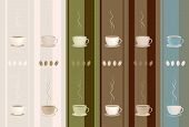 Coffee Wall Texture Decoration