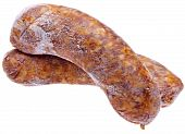 Pair Of Spicy Frozen Sausages poster