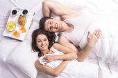 image of bed breakfast  - Top view - JPG