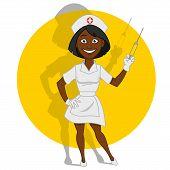 picture of nurse  - Beautiful nurse - JPG
