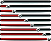 image of indications  - Horizontal Progress Loading Bars - JPG