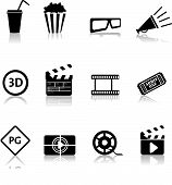 Movie Icons Silhouettes.eps
