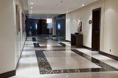 Corridor In The Luxury Hotel