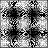 Big labyrinth illustration
