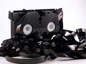 Vhs tape unwound