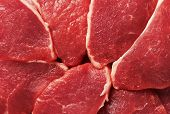 Piece of fresh raw meat background