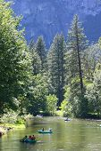 Merced River In Yosemite