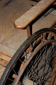 Antique Wheel Chair