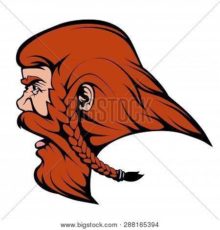 Viking Warrior Suitable As Logo