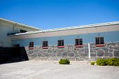 former maxmium security prison in Robben Island, South Africa, where Nelson Mandela was held