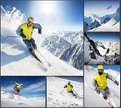 Conjunto de esqui
