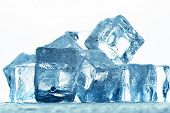 image of ice-cubes  - Ice cubes - JPG