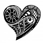 decorative vector heart