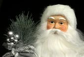 Santa Doll Portrait poster