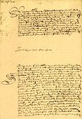 Very Old Marriage Contract.