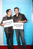 LOS ANGELES - JAN 6:  Carson Daly, Blake Shelton arrives at the NBC Universal All-Star Winter TCA Pa