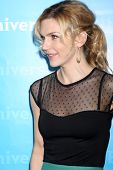 LOS ANGELES - 6 de JAN: Rhea Seehorn chega na NBC Universal All-Star inverno TCA festa no The Ath