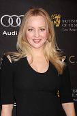 LOS ANGELES - JAN 14:  Wendi McLendon-Covey arrives at  the BAFTA Award Season Tea Party 2012 at Fou