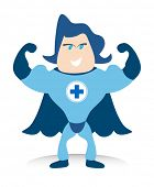 De Bluecross super held is uw leven saver.