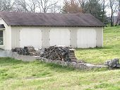 Outbuilding With Wood_Filtered