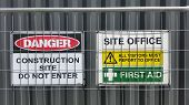 Construction Signs, Roadwork Signs poster